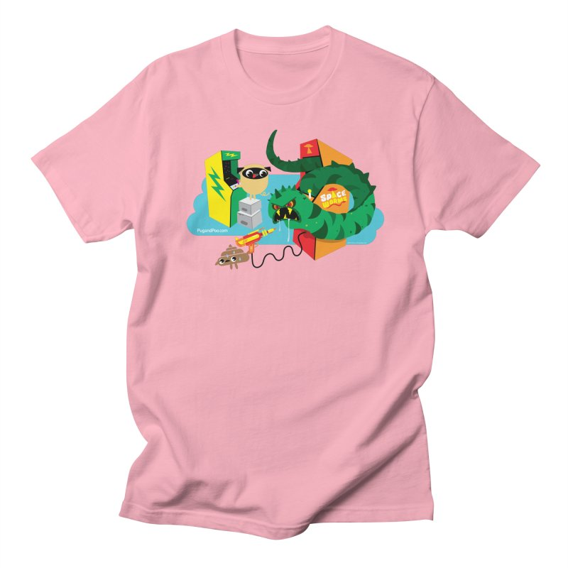 Pug and Poo Arcade Men's T-Shirt by Pug and Poo's Store