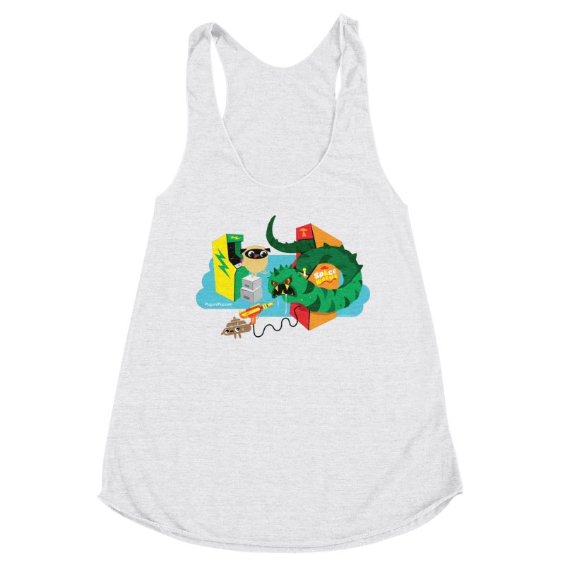 Pug and Poo Arcade Women's Tank by Pug and Poo's Store
