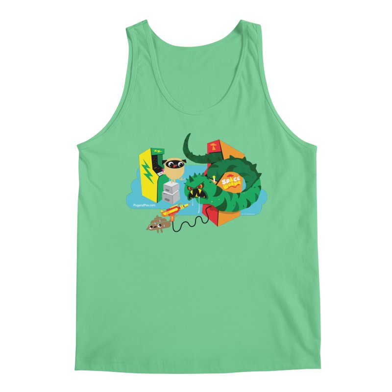Pug and Poo Arcade Men's Tank by Pug and Poo's Store