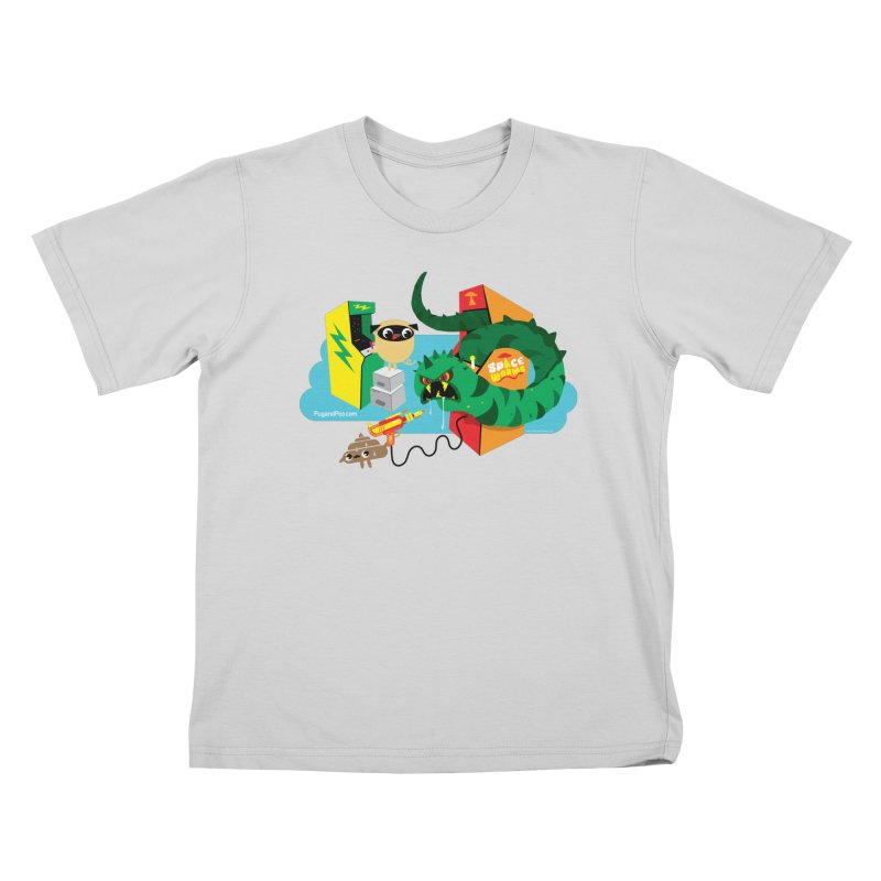 Pug and Poo Arcade Kids T-Shirt by Pug and Poo's Store