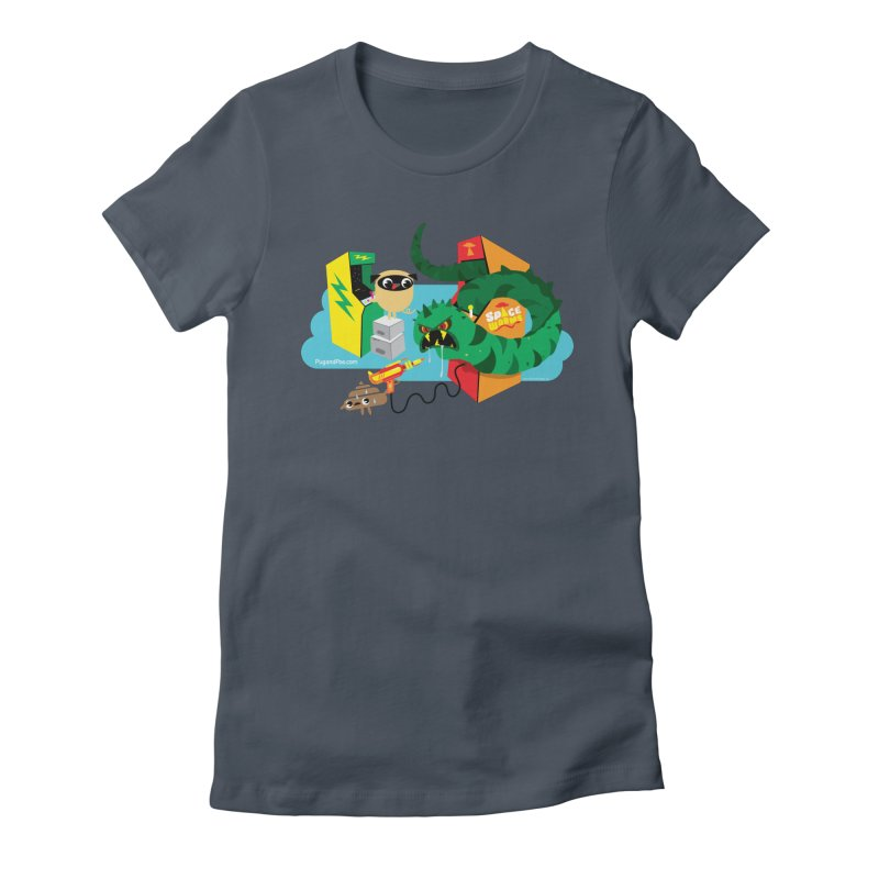Pug and Poo Arcade Women's T-Shirt by Pug and Poo's Store