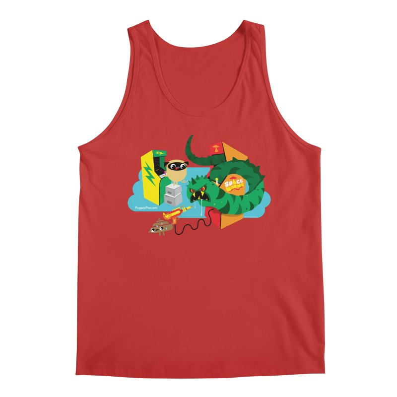 Pug and Poo Arcade Men's Regular Tank by Pug and Poo's Store