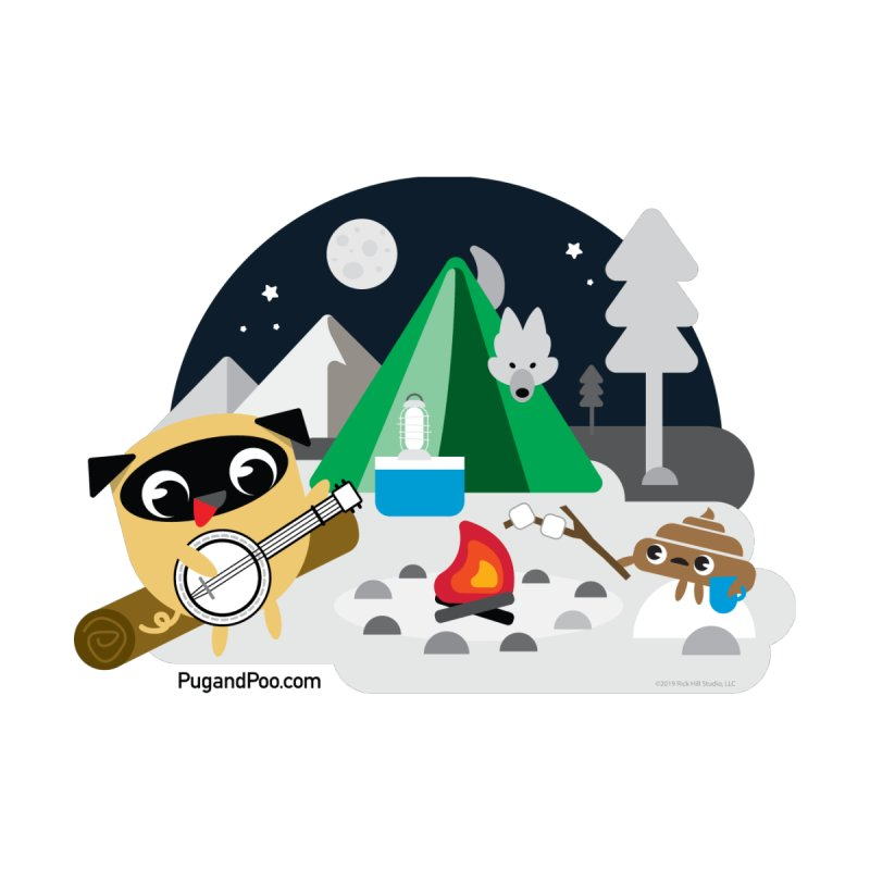 Pug and Poo Campfire   by Pug and Poo's Store