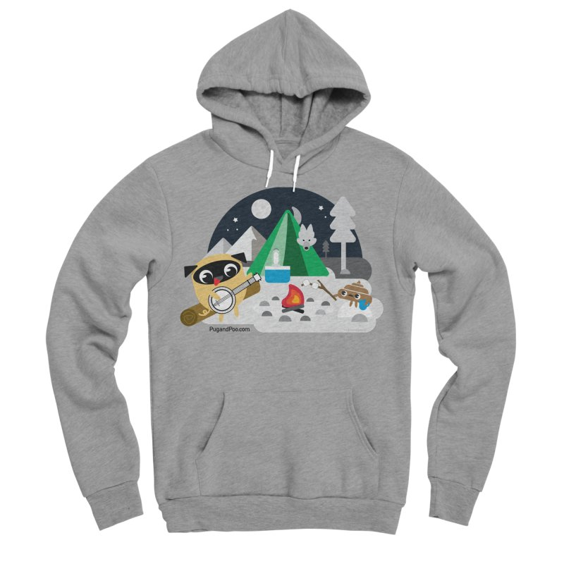 Pug and Poo Campfire Women's Sponge Fleece Pullover Hoody by Pug and Poo's Store