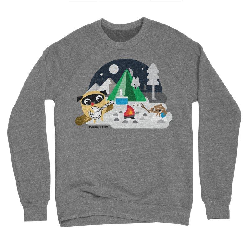 Pug and Poo Campfire Women's Sponge Fleece Sweatshirt by Pug and Poo's Store