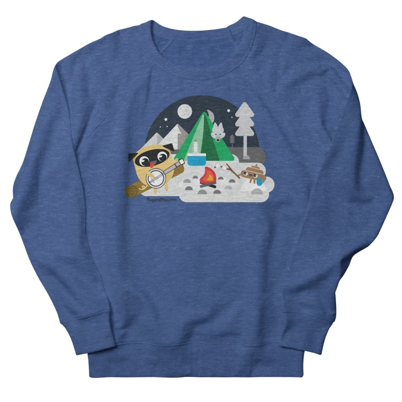 Pug and Poo Campfire Men's Sweatshirt by Pug and Poo's Store