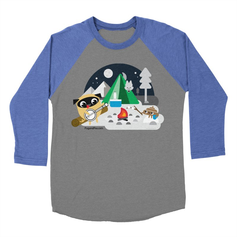 Pug and Poo Campfire Women's Longsleeve T-Shirt by Pug and Poo's Store