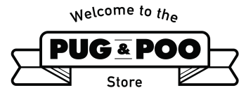 Pug and Poo's Store Logo