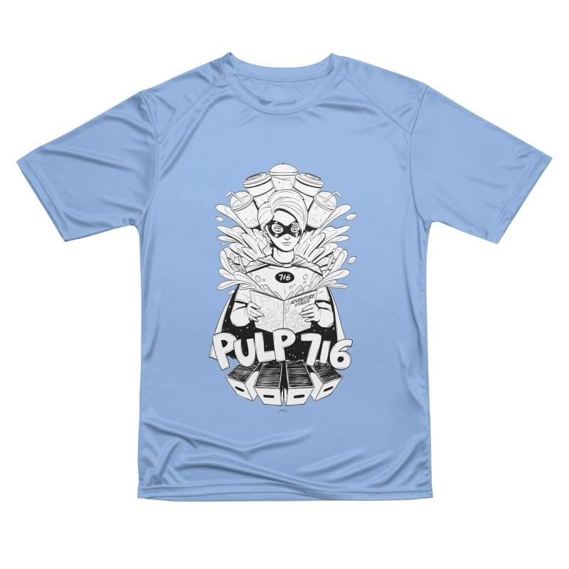 Pulp 716 Bandit Men's T-Shirt by Pulp 716 Coffee & Comics collection by threadless