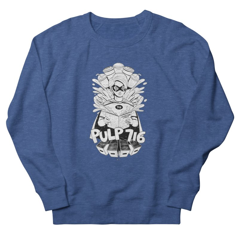 Pulp 716 Bandit Men's Sweatshirt by Pulp 716 Coffee & Comics collection by threadless