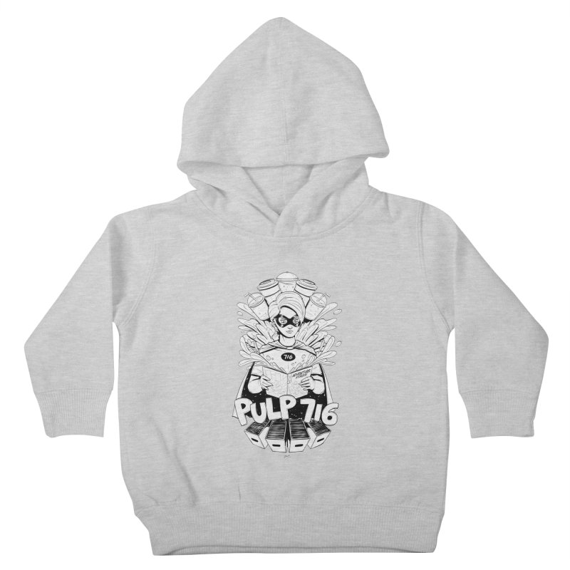 Pulp 716 Bandit Kids Toddler Pullover Hoody by Pulp 716 Coffee & Comics collection by threadless