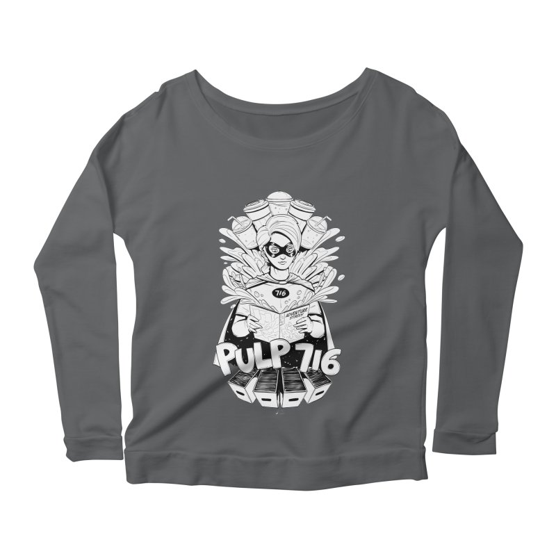 Pulp 716 Bandit Women's Longsleeve T-Shirt by Pulp 716 Coffee & Comics collection by threadless