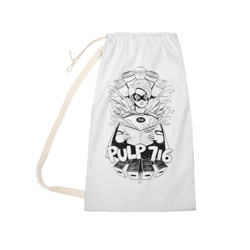 Pulp 716 Bandit Accessories Bag by Pulp 716 Coffee & Comics collection by threadless