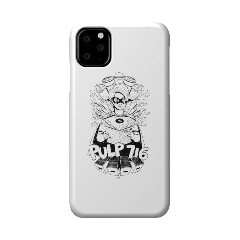 Pulp 716 Bandit Accessories Phone Case by Pulp 716 Coffee & Comics collection by threadless