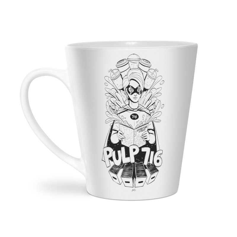 Pulp 716 Bandit Accessories Mug by Pulp 716 Coffee & Comics collection by threadless