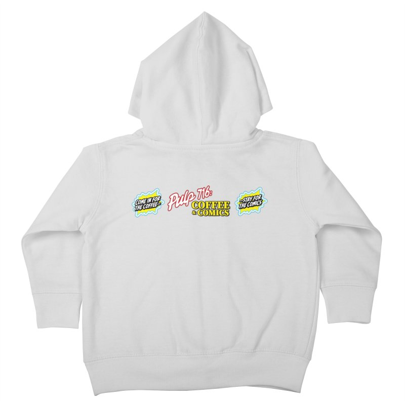 Pulp 716 Retro Diner Logo Kids Toddler Zip-Up Hoody by Pulp 716 Coffee & Comics collection by threadless