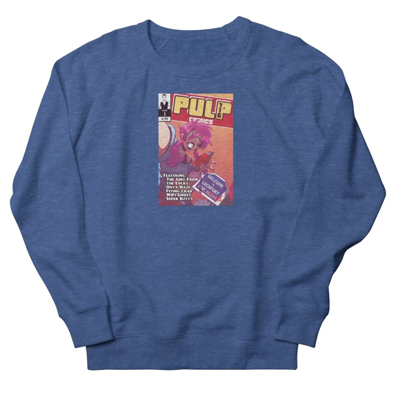 Pulp 716: The Girl From the Locks Men's Sweatshirt by Pulp 716 Coffee & Comics collection by threadless
