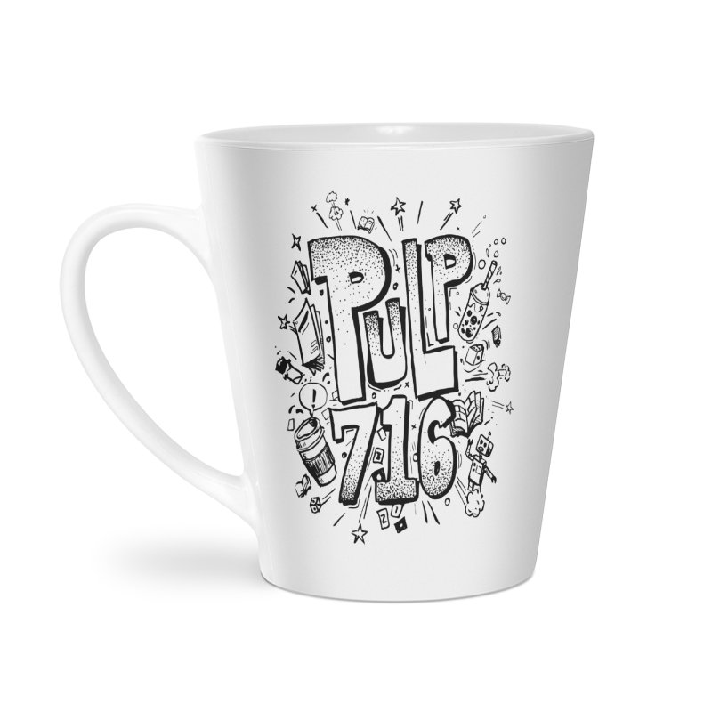 Pulp 716 pop art logo Accessories Mug by Pulp 716 Coffee & Comics collection by threadless