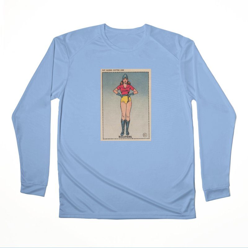 Retro (Limited Edition, 100 orders) Women's Longsleeve T-Shirt by Pulp 716 Coffee & Comics collection by threadless