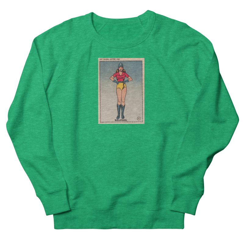 Retro (Limited Edition, 100 orders) Women's Sweatshirt by Pulp 716 Coffee & Comics collection by threadless