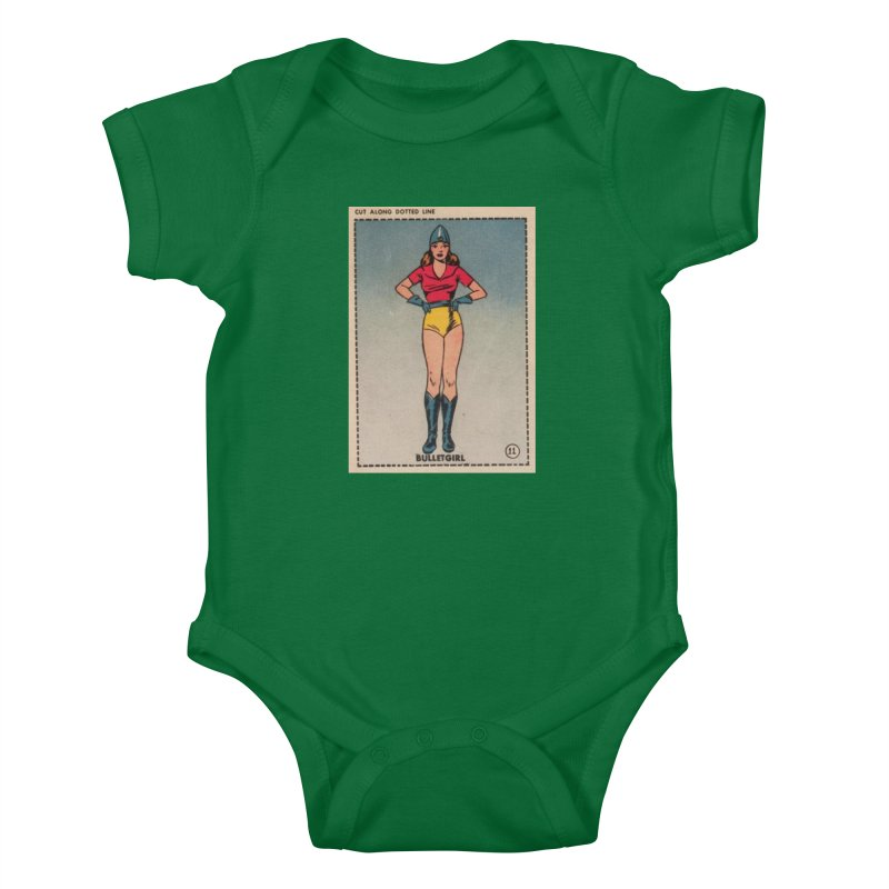 Retro (Limited Edition, 100 orders) Kids Baby Bodysuit by Pulp 716 Coffee & Comics collection by threadless