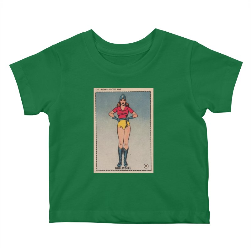 Retro (Limited Edition, 100 orders) Kids Baby T-Shirt by Pulp 716 Coffee & Comics collection by threadless