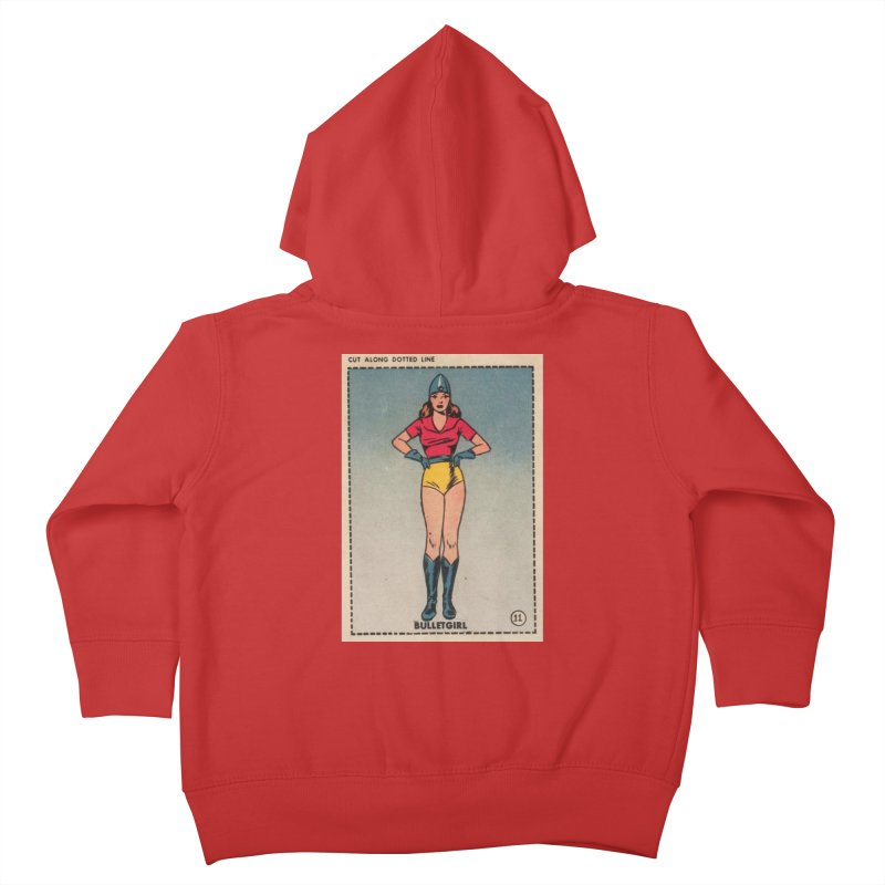 Retro (Limited Edition, 100 orders) Kids Toddler Zip-Up Hoody by Pulp 716 Coffee & Comics collection by threadless