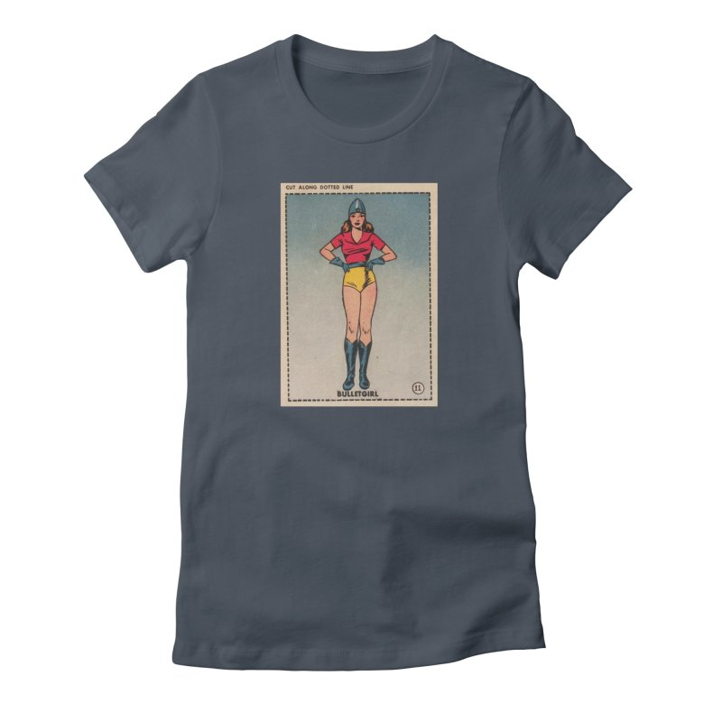 Retro (Limited Edition, 100 orders) Women's T-Shirt by Pulp 716 Coffee & Comics collection by threadless