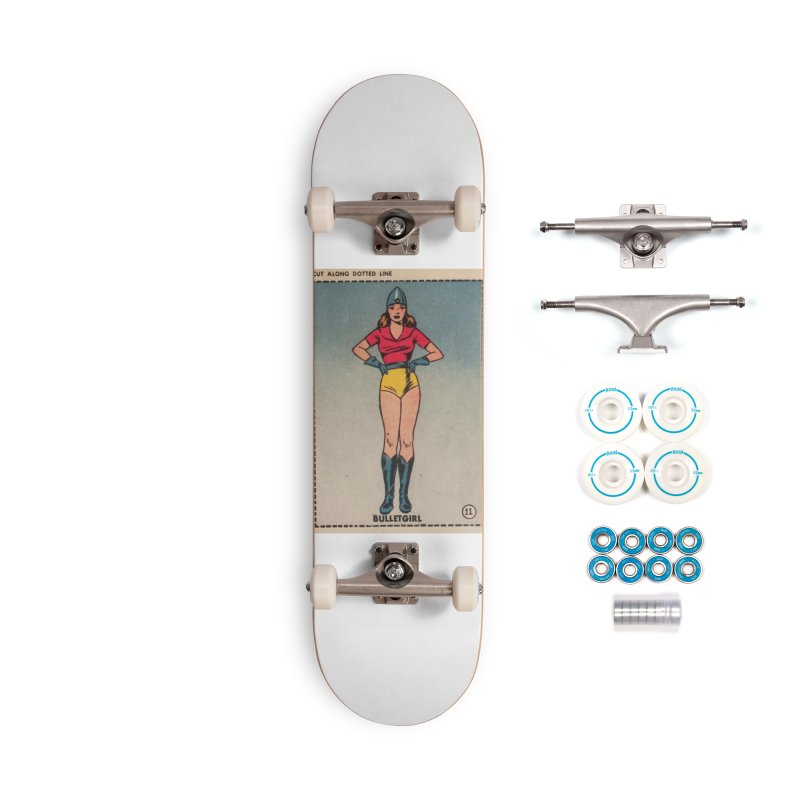Retro (Limited Edition, 100 orders) Accessories Skateboard by Pulp 716 Coffee & Comics collection by threadless