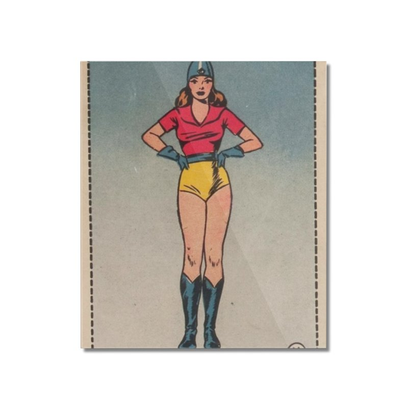 Retro (Limited Edition, 100 orders) Home Mounted Acrylic Print by Pulp 716 Coffee & Comics collection by threadless