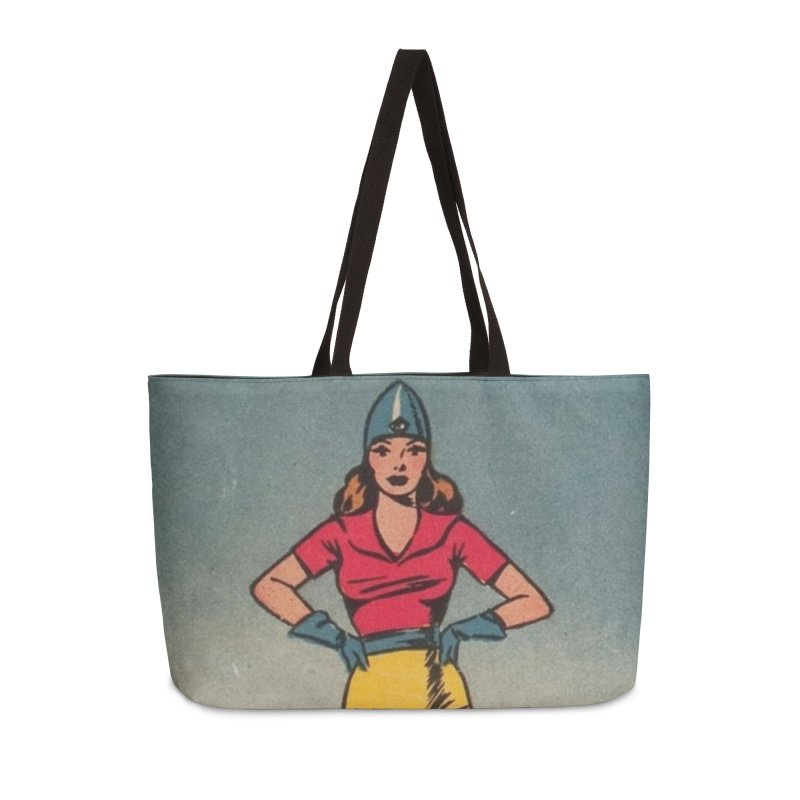 Retro (Limited Edition, 100 orders) Accessories Bag by Pulp 716 Coffee & Comics collection by threadless