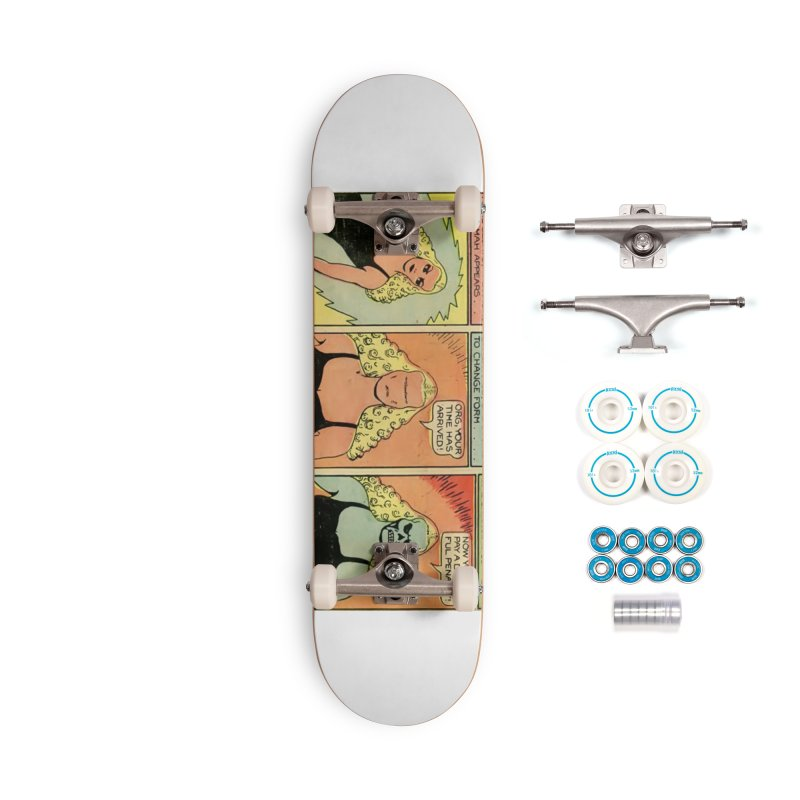 Rage! Accessories Skateboard by Pulp 716 Coffee & Comics collection by threadless