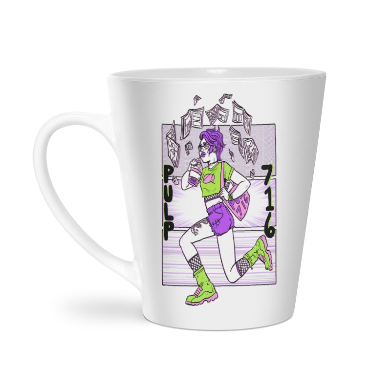 Pulp 716 by Sloane Leong Accessories Mug by Pulp 716 Coffee & Comics collection by threadless