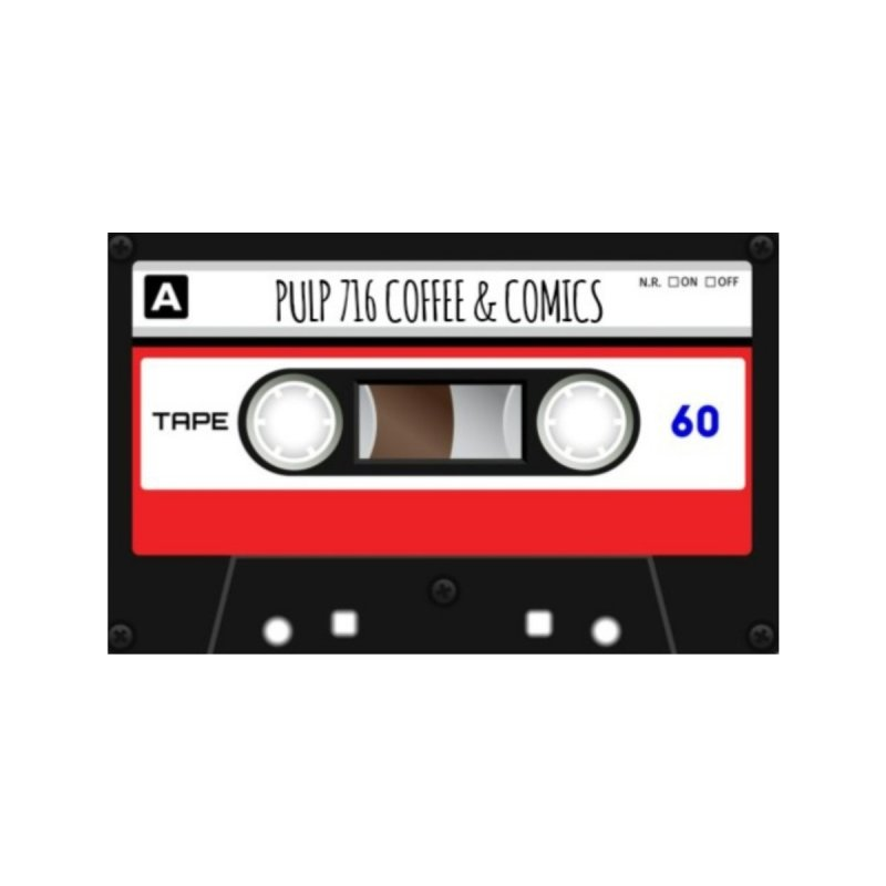 I made you a mixtape Kids Longsleeve T-Shirt by Pulp 716 Coffee & Comics collection by threadless