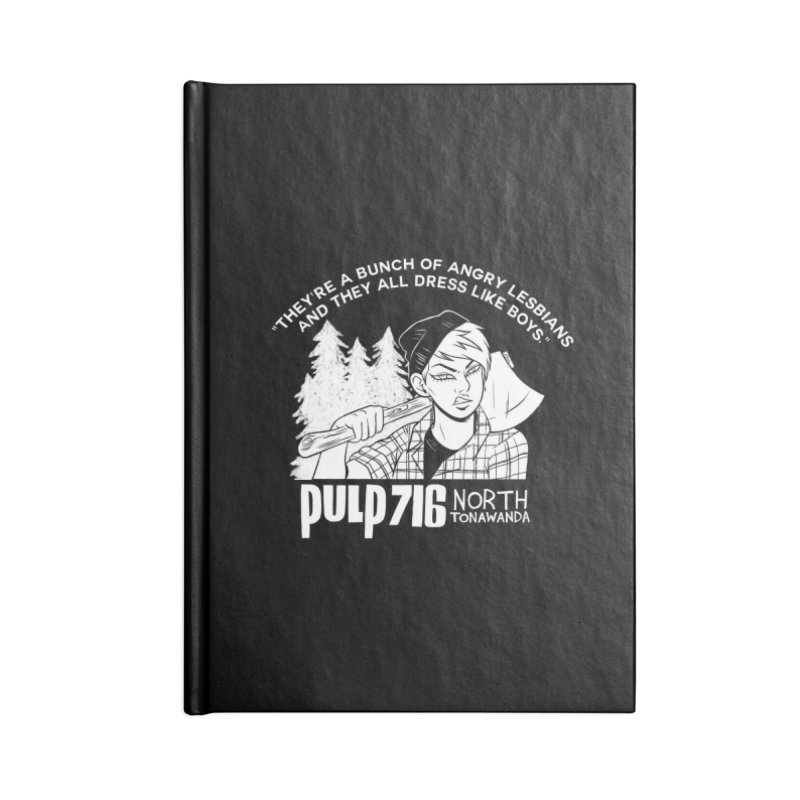 They're A Bunch Of... (Version 1) By Carmen Pizarro Accessories Notebook by Pulp 716 Coffee & Comics collection by threadless