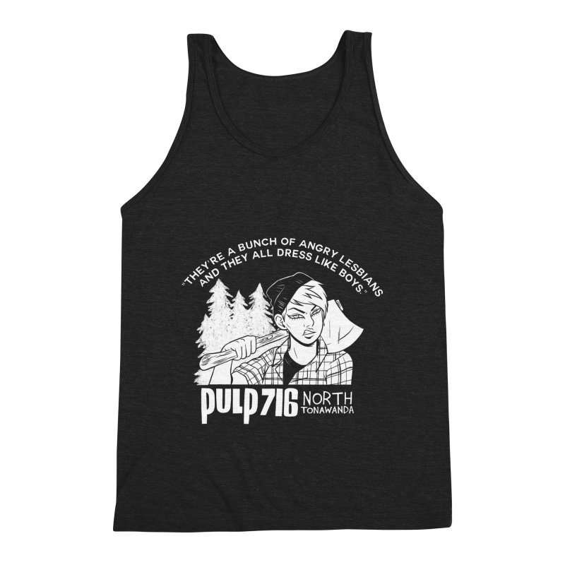 They're A Bunch Of... (Version 1) By Carmen Pizarro Men's Tank by Pulp 716 Coffee & Comics collection by threadless