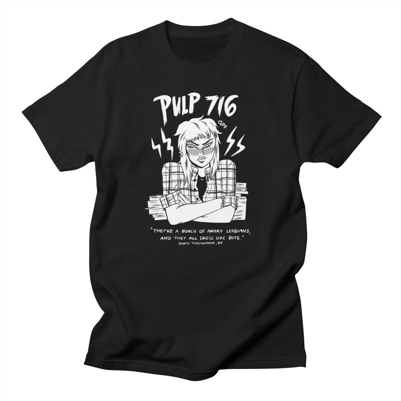 They're A Bunch Of.. (Version 2) By Carmen Pizarro Men's T-Shirt by Pulp 716 Coffee & Comics collection by threadless