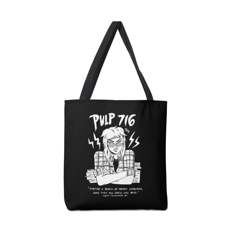 They're A Bunch Of.. (Version 2) By Carmen Pizarro Accessories Bag by Pulp 716 Coffee & Comics collection by threadless