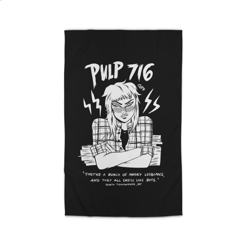 They're A Bunch Of.. (Version 2) By Carmen Pizarro Home Rug by Pulp 716 Coffee & Comics collection by threadless