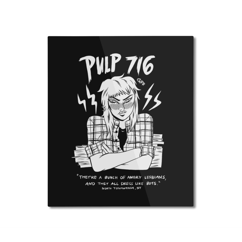 Home None by Pulp 716 Coffee & Comics collection by threadless