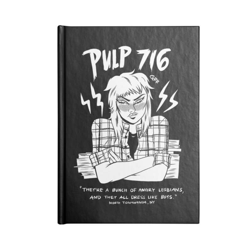 They're A Bunch Of.. (Version 2) By Carmen Pizarro Accessories Notebook by Pulp 716 Coffee & Comics collection by threadless
