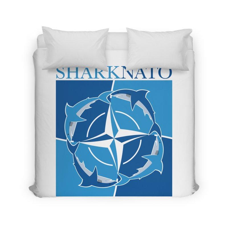 Shark-NATO Home Duvet by Puttyhead's Artist Shop