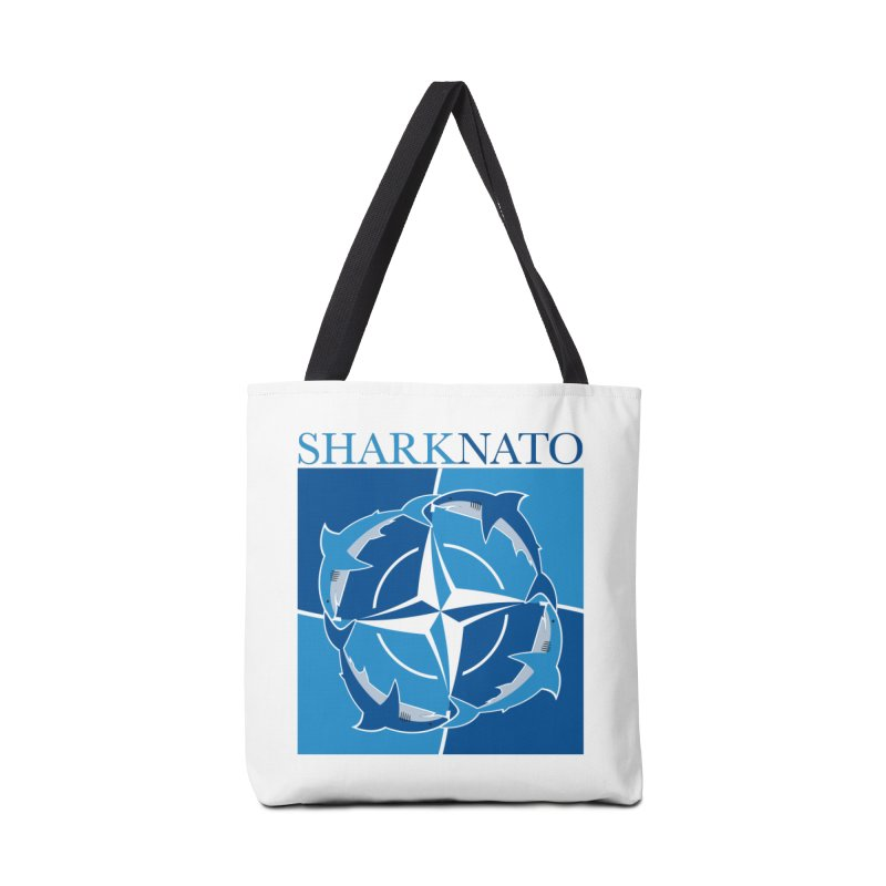 Shark-NATO Accessories Tote Bag Bag by Puttyhead's Artist Shop