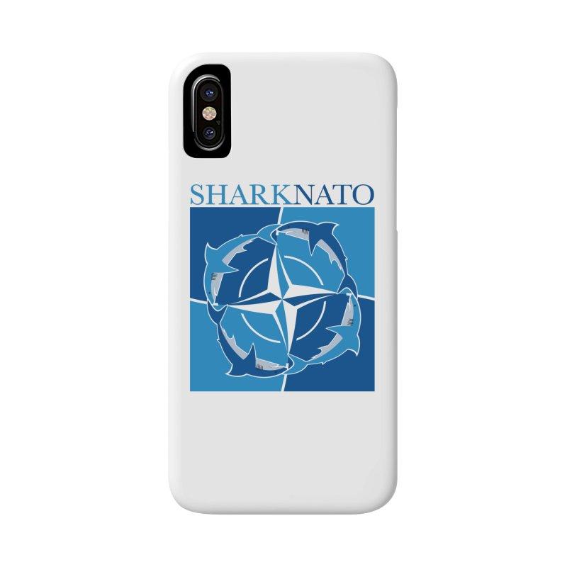 Shark-NATO Accessories Phone Case by Puttyhead's Artist Shop