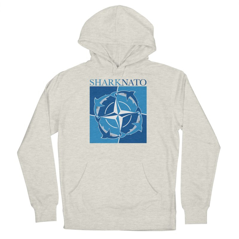 Shark-NATO Women's French Terry Pullover Hoody by Puttyhead's Artist Shop