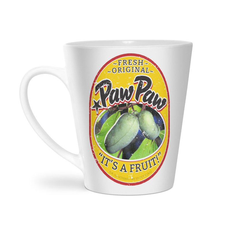 Paw Paw Accessories Latte Mug by Puttyhead's Artist Shop