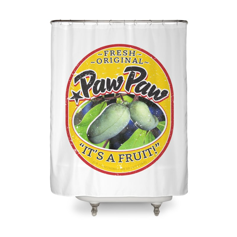 Paw Paw Home Shower Curtain by Puttyhead's Artist Shop