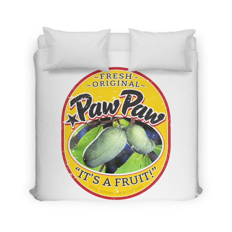 Paw Paw Home Duvet by Puttyhead's Artist Shop