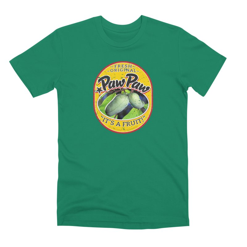 Paw Paw Men's Premium T-Shirt by Puttyhead's Artist Shop