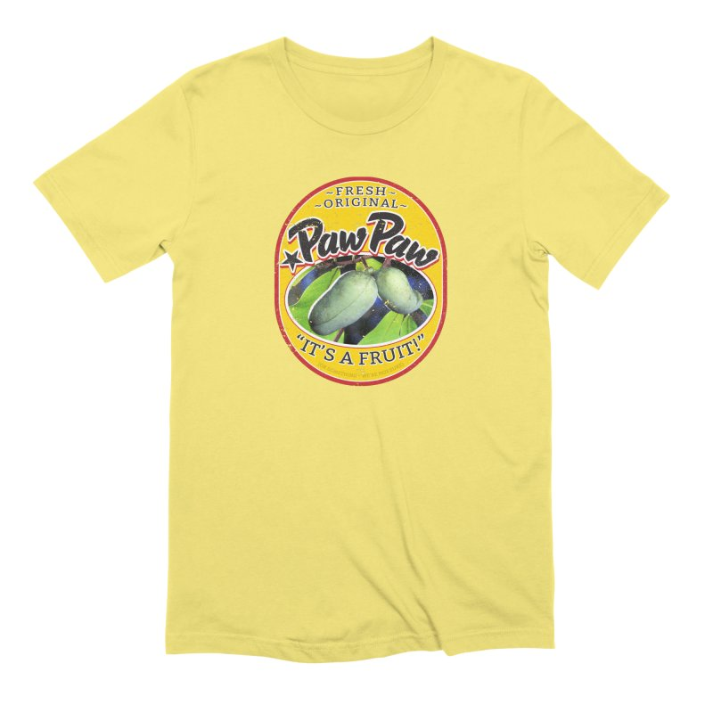 Paw Paw Men's Extra Soft T-Shirt by Puttyhead's Artist Shop